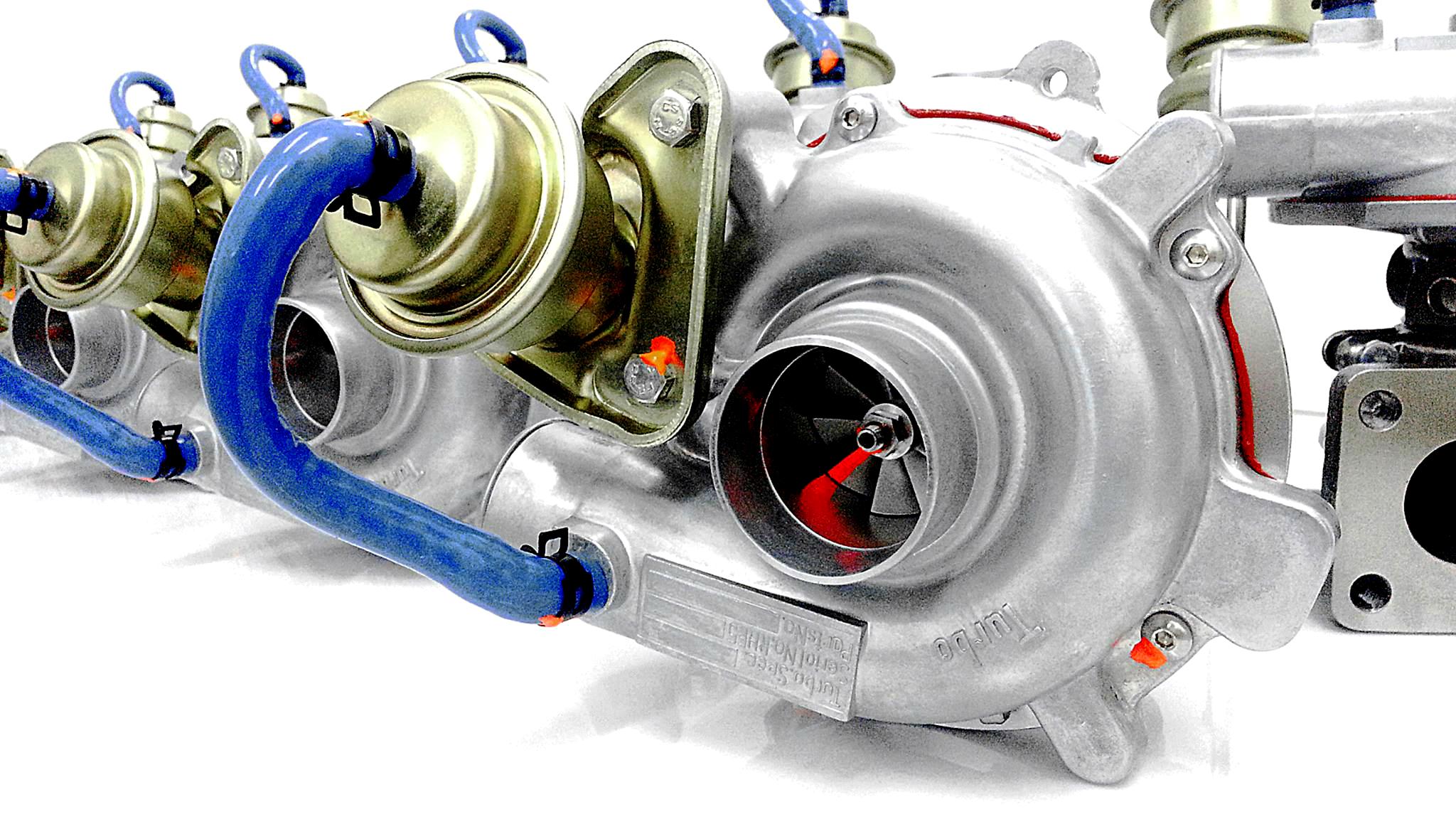 фото турбины низкого давления на ременном приводе при